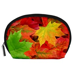 Autumn Leaves 1 Accessory Pouches (large)