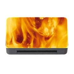 YELLOW FLAMES Memory Card Reader with CF