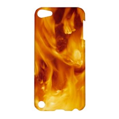 YELLOW FLAMES Apple iPod Touch 5 Hardshell Case