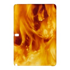 YELLOW FLAMES Samsung Galaxy Tab Pro 10.1 Hardshell Case
