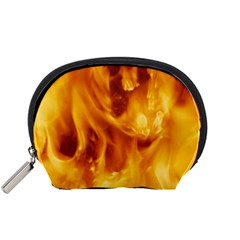 YELLOW FLAMES Accessory Pouches (Small)