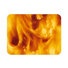 YELLOW FLAMES Double Sided Flano Blanket (Mini)
