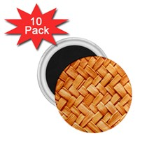 WOVEN STRAW 1.75  Magnets (10 pack)