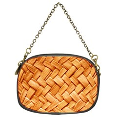 WOVEN STRAW Chain Purses (One Side)