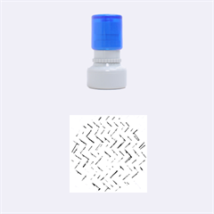 Woven Straw Rubber Round Stamps (small)