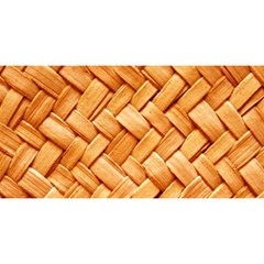 WOVEN STRAW YOU ARE INVITED 3D Greeting Card (8x4)