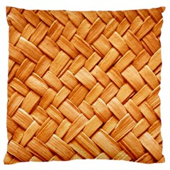 WOVEN STRAW Large Cushion Cases (One Side)