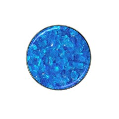 TURQUOISE GLASS Hat Clip Ball Marker (4 pack)