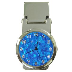 TURQUOISE GLASS Money Clip Watches