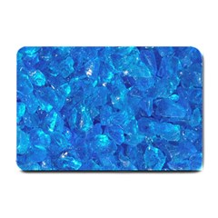 TURQUOISE GLASS Small Doormat