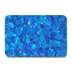 Turquoise Glass Plate Mats