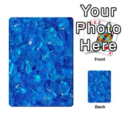Turquoise Glass Multi Purpose Cards (rectangle)