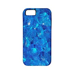 TURQUOISE GLASS Apple iPhone 5 Classic Hardshell Case (PC+Silicone)