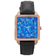 TURQUOISE GLASS Rose Gold Watches