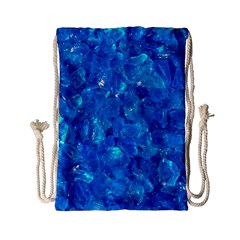 TURQUOISE GLASS Drawstring Bag (Small)
