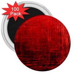 SHADES OF RED 3  Magnets (100 pack)