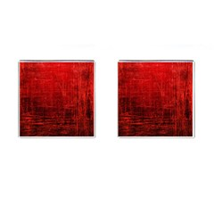 Shades Of Red Cufflinks (square)