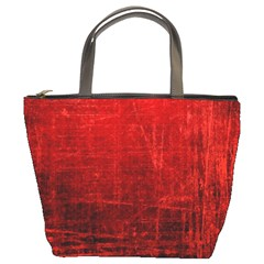 SHADES OF RED Bucket Bags
