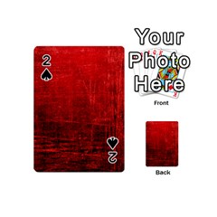 SHADES OF RED Playing Cards 54 (Mini)