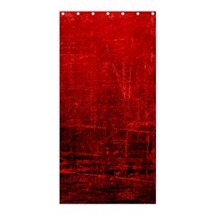SHADES OF RED Shower Curtain 36  x 72  (Stall)