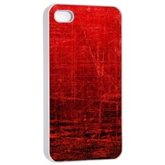 SHADES OF RED Apple iPhone 4/4s Seamless Case (White)