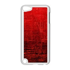 SHADES OF RED Apple iPod Touch 5 Case (White)