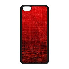 SHADES OF RED Apple iPhone 5C Seamless Case (Black)