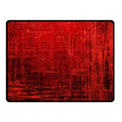 Shades Of Red Double Sided Fleece Blanket (small)