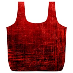 SHADES OF RED Full Print Recycle Bags (L)