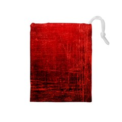 SHADES OF RED Drawstring Pouches (Medium)