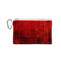SHADES OF RED Canvas Cosmetic Bag (S)