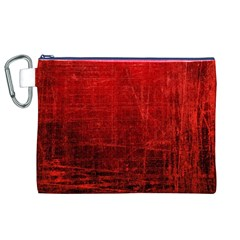 SHADES OF RED Canvas Cosmetic Bag (XL)