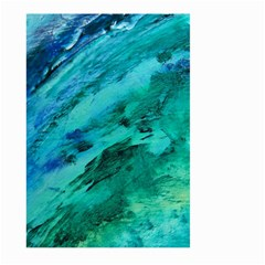 Shades Of Blue Large Garden Flag (two Sides)