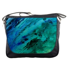 SHADES OF BLUE Messenger Bags