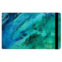 SHADES OF BLUE Apple iPad 3/4 Flip Case