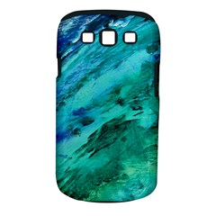SHADES OF BLUE Samsung Galaxy S III Classic Hardshell Case (PC+Silicone)