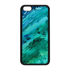 SHADES OF BLUE Apple iPhone 5C Seamless Case (Black)