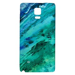 SHADES OF BLUE Galaxy Note 4 Back Case