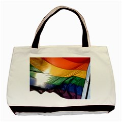 PRIDE FLAG Basic Tote Bag