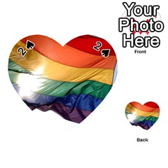 Pride Flag Playing Cards 54 (heart)