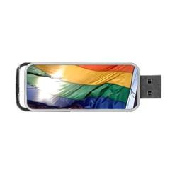 Pride Flag Portable Usb Flash (one Side)