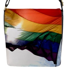 PRIDE FLAG Flap Messenger Bag (S)