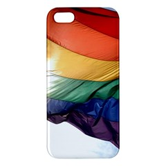 PRIDE FLAG iPhone 5S Premium Hardshell Case