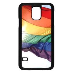 PRIDE FLAG Samsung Galaxy S5 Case (Black)
