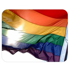 PRIDE FLAG Double Sided Flano Blanket (Medium)