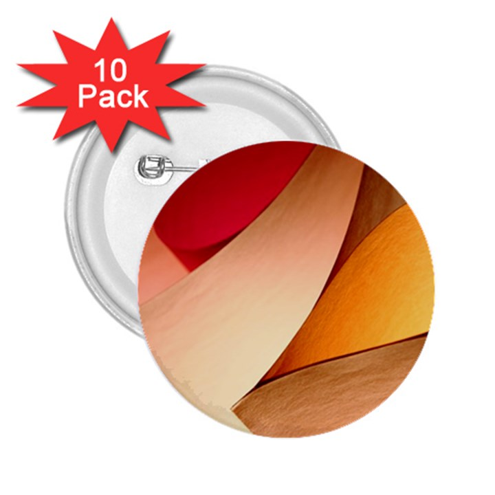PRETTY ABSTRACT ART 2.25  Buttons (10 pack)