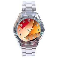 PRETTY ABSTRACT ART Stainless Steel Men s Watch