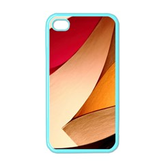 PRETTY ABSTRACT ART Apple iPhone 4 Case (Color)