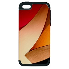 PRETTY ABSTRACT ART Apple iPhone 5 Hardshell Case (PC+Silicone)