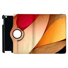 PRETTY ABSTRACT ART Apple iPad 2 Flip 360 Case